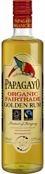 Añejo Papagayo Rum 70 cl