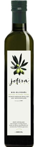 Jefira Natives Olivenöl Extra 50 cl