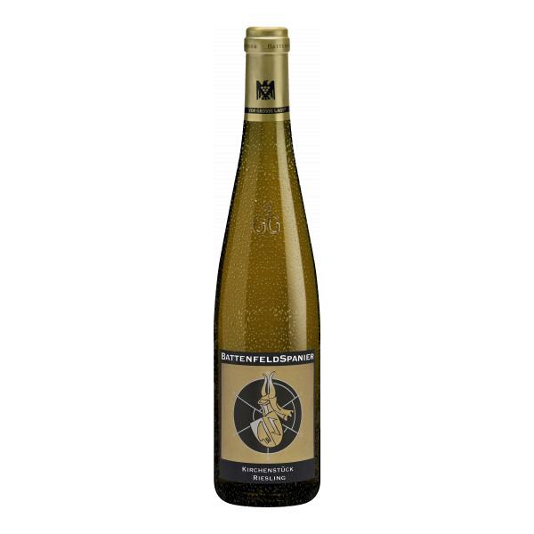 Battenfeld Spanier Riesling Kirchenstück GG, Deutscher Qualitätswein, Rheinhessen 2014, Bio-Weisswein
