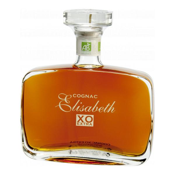 Domaine Elisabeth Cognac XO Extra 70 cl, Cognac Fins Bois AOP, Bio-Spirituosen
