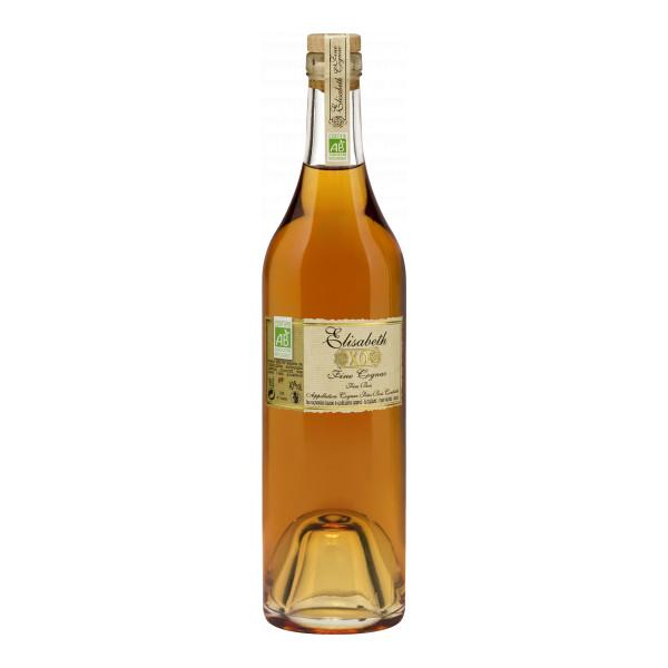 Domaine Elisabeth Cognac XO 50 cl, Cognac Fins Bois AC, Bio-Spirituosen