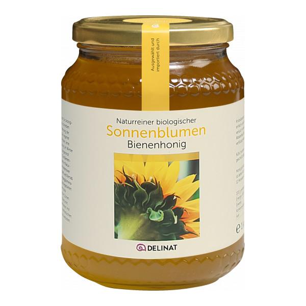 Sonnenblumenhonig, Molise - Italien, Bio-Honig
