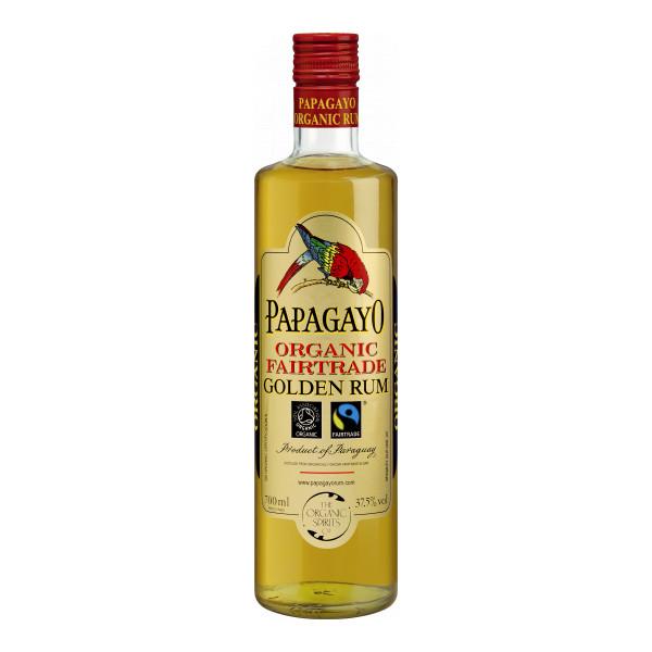 Añejo Papagayo Rum 70 cl, Paraguay, Organic Fairtrade, Bio-Spirituosen