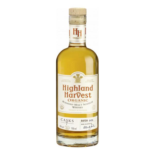 Highland Blended Malt Whisky 70 cl, Scotland, Casks 7, Bio-Spirituosen