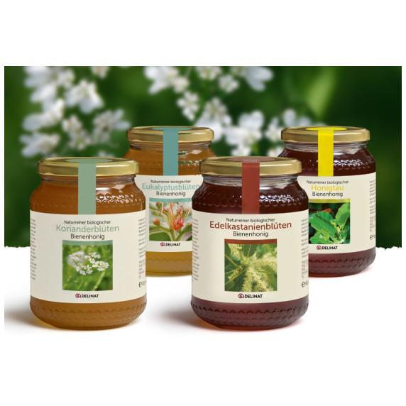 Honigpaket dunkle Sortenhonige