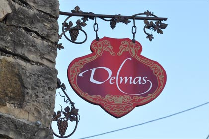 Bürgt für hohe Schaumweinqualität: das Weingut Delmas.
