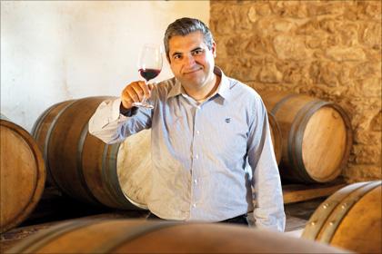 Massimo Maggio: «L'amore per la terra – la passione per il vino», lautet sein Credo.