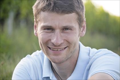 Alexander Pflüger, ein engagierter Biowinzer.