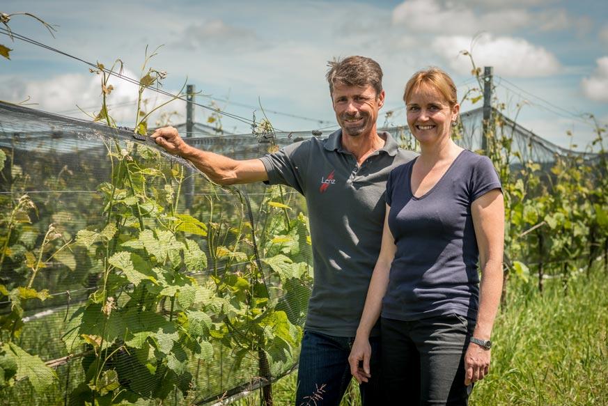 Roland und Karin Lenz setzen auf PIWI-Rebsorten und produzieren im Thurgau hervorragende PIWI-Weine.