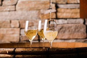 Keller-Fest in der Delinat-Weinbar
