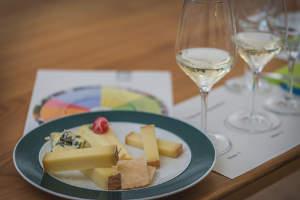 Kurs Wein und Käse: komplexe Liebschaften!