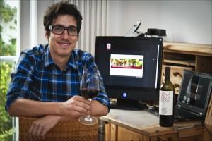 Manuel Roth, Gewinner des Weinquiz