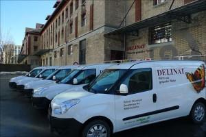 Erdgas-Fahrzeuge für die dezentrale Auslieferung