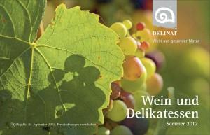 Wein-Katalog Sommer 2012