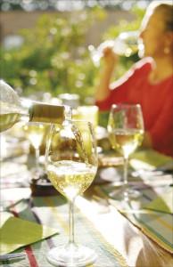 Sommer Weisswein