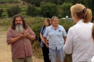 Führung auf dem Weingut La Tour des Vidaux