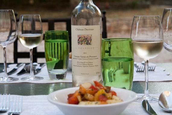 Les Amandiers, der vielseitige Weisswein von Château Duvivier