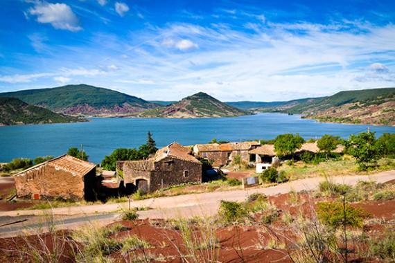 Die Domaine Mon Rève am Lac du Salagou
