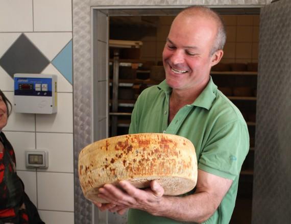 Prachtstück – der Schweizer Käser Ulisse lebt seit 1993 in der Toskana