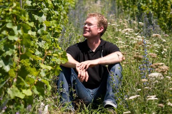 Timo Dienhart vom Weingut Römerkelter