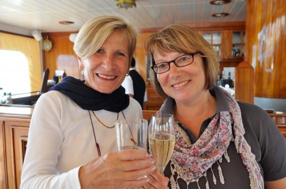 Geburtstagskinder Anni (links) und Martina