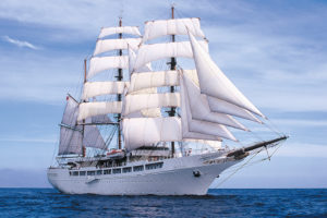 Nobler Windjammer: Sea Cloud II.