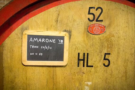 Der Königswein aus dem Valpolicella wird aus luftgetrockneten Trauben erzeugt.