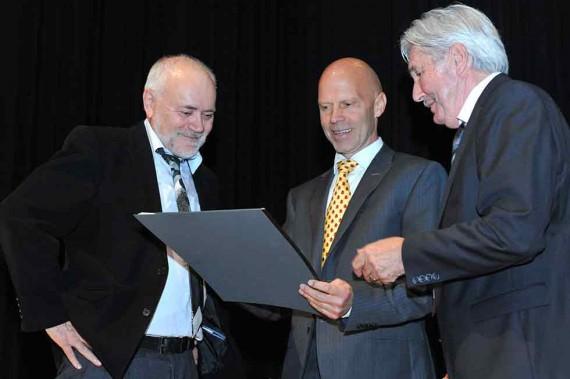 Karl Schefer, Dr. Mario F. Broggi, Andreas Adank
