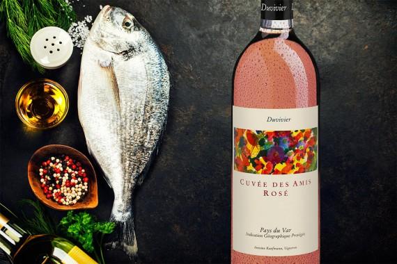 Rosé und Fisch: ideale Partner