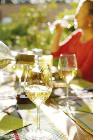 Wein im Offenausschank