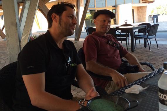 Richard Sanz und Karl Schefer