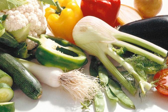 Vielfalt an Gemüse
