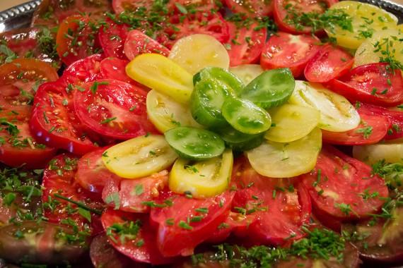 qualitativ hochwerte Tomaten