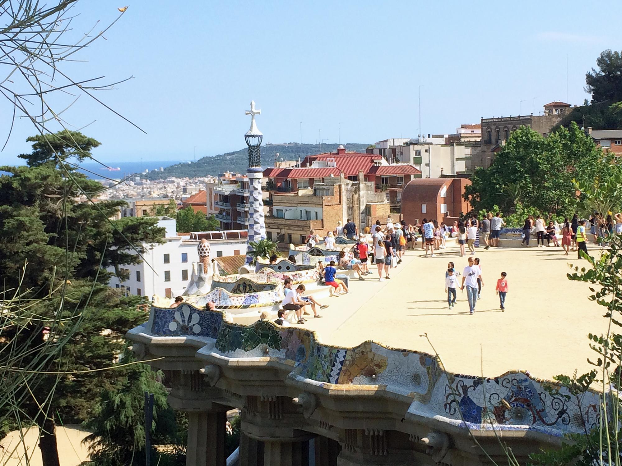 Ausklingen der Reise in Barcelonas Altstadt