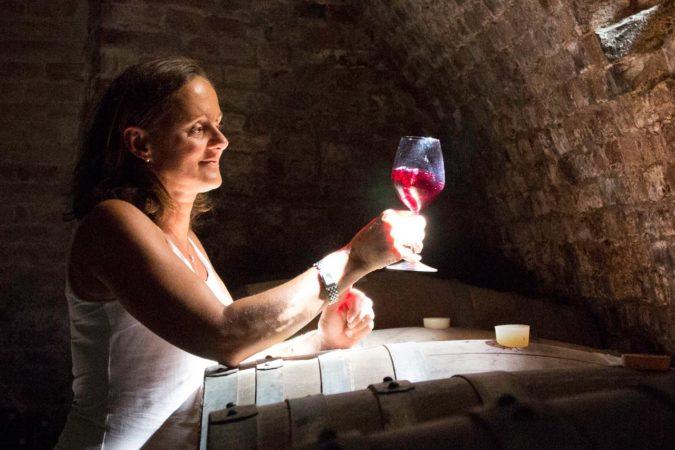 Weinkeller Piemont