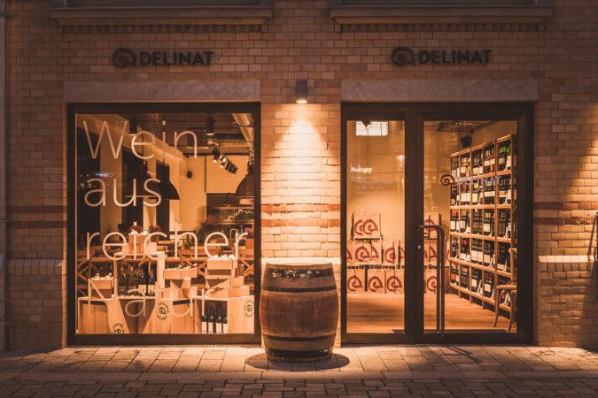 Delinat-Weinshop Hamburg im Stadtzentrum von Hamburg