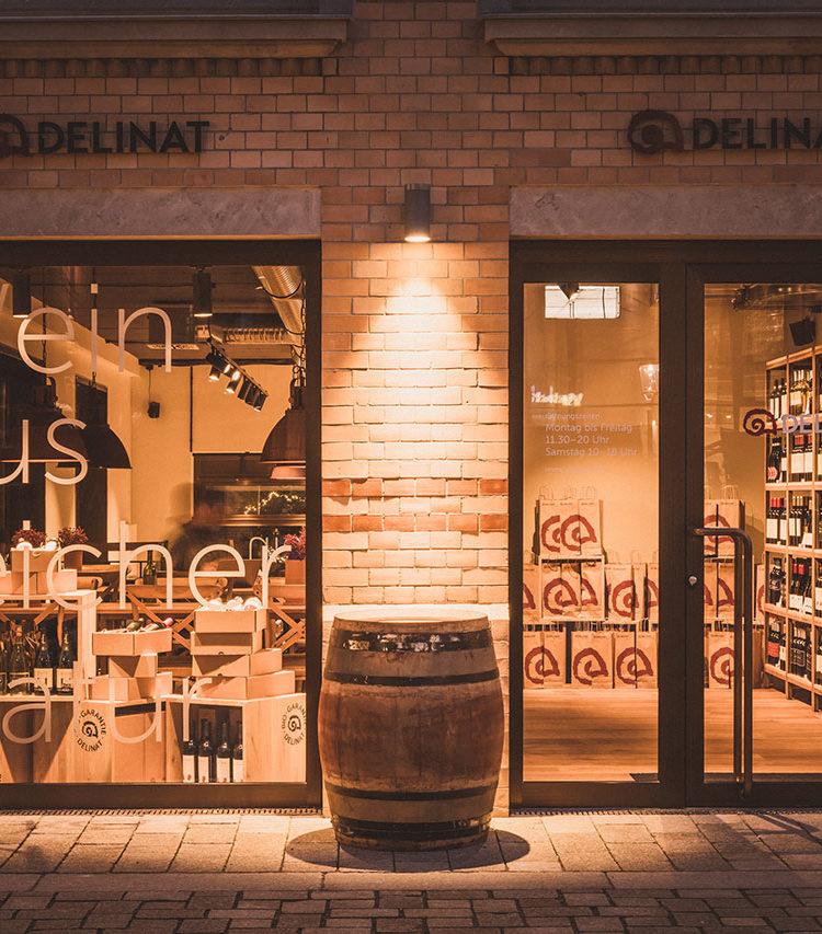Der Delinat-Shop in Hamburg wurde Ende 2019 eröffnet