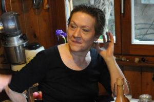 Monika Schiess, langjährige  Grafikerin