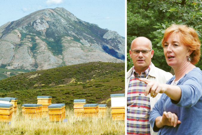 Luisa Fernández aus Spanien produziert mit ihrer Imkerei Olaya seit 2004 biologischen Honig