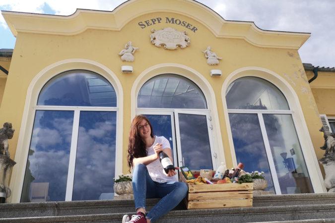 Bioladen auf dem Weingut Sepp Moser
