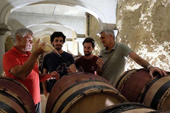 Die Komposition der Weine auf Beaurenard ist Familiensache.