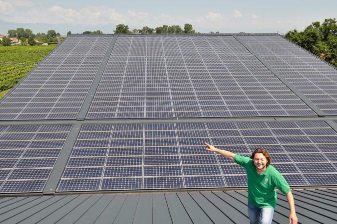 William Savian hat setzt seit 2007 auf Solarkraft