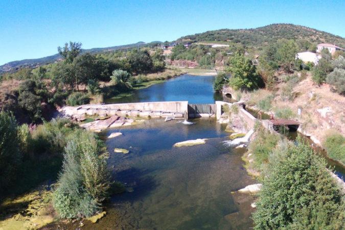 Auf der Domaine Mon Rêve wird mit Wasserkraft gearbeitet