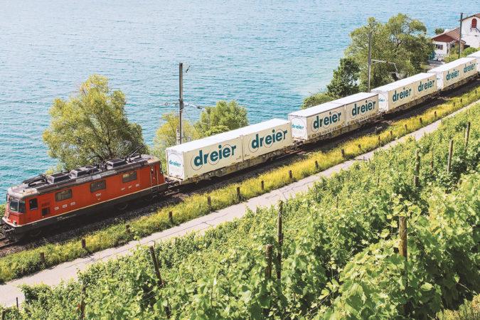 Dreier AG: Transport auf der Schiene