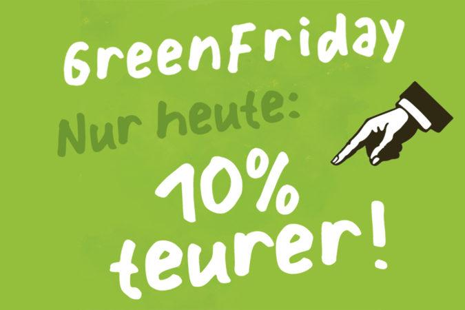 Green Friday bei Delinat