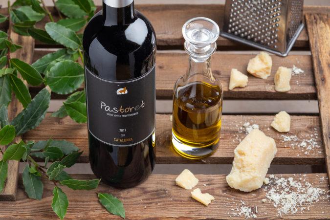 Püree von weissen Bohnen mit Rotwein
