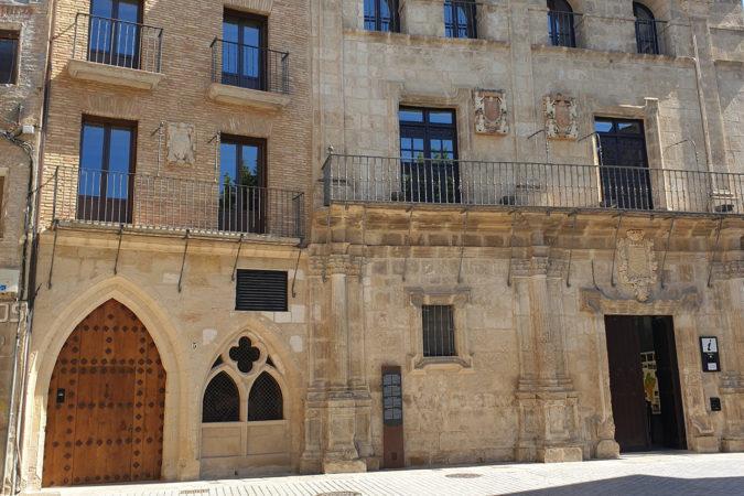 Weinbar von Quaderna Via in Estella